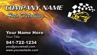 Auto Detailer Business Card Sample