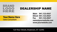 Cadillac Dealer Business Cards
