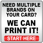Multiple Car Brand Business Cards